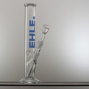 250 ml straight, joint 14,5 blue-white