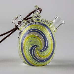 QualmEi Spirale, hellgrün / hellblau