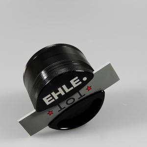 EHLE.-Grinder L, vierteilig, schwarz