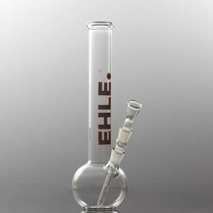 spheric bong straight, 14,5 black-red