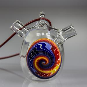 one hit bubbler section, blue-yellow-red